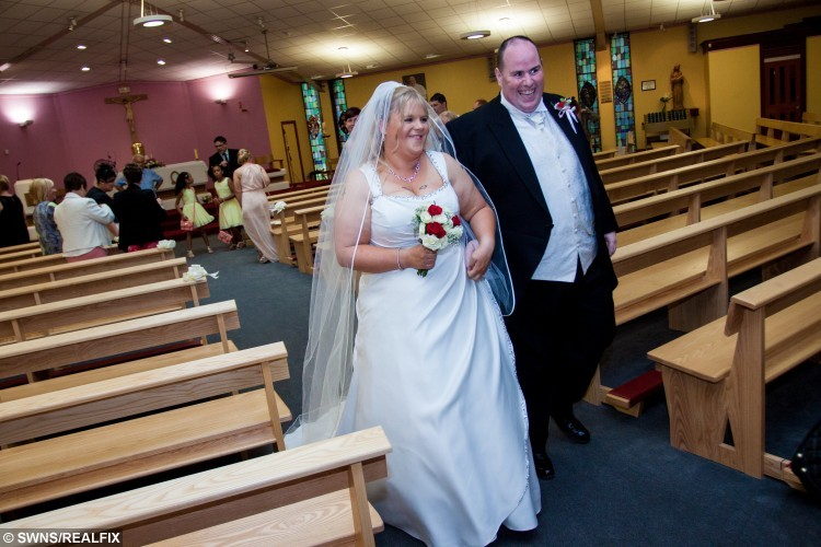 Newly Weds Lose 24 Stone After Being Shamed By Their