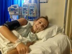 Brave woman has spine removed to fight ultra-rare cancer