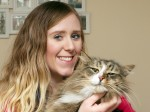 Lost and round – you'll never believe where this missing moggy spent the last 14 months