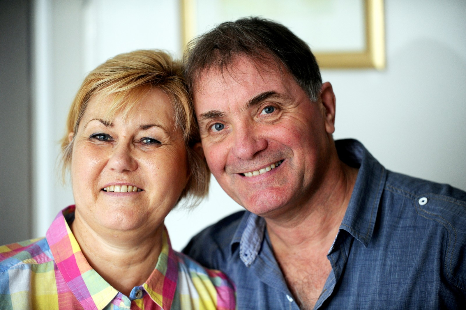 Dad beats million-to-one odds to give his wife the ultimate gift – a kidney