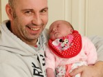 Dad delivers baby daughter in the living room – on his own BIRTHDAY