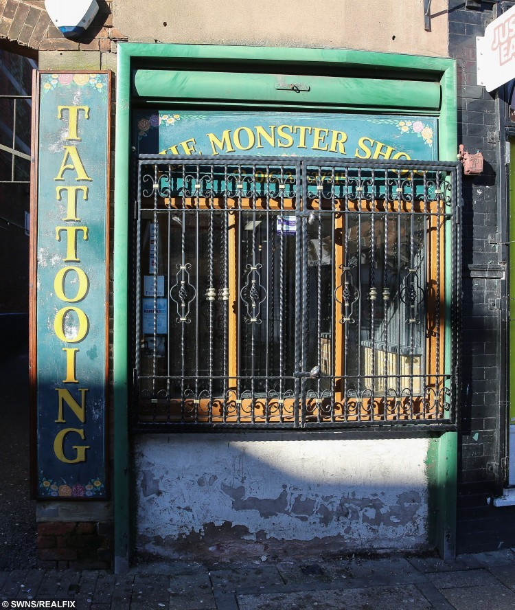 The Monster Shop in Mansfield, Nottinghamshire.