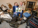 Meet the brother and sister with the UK's biggest collection of PRAMS and DOLLS