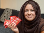 Furious woman demands lifetime supply of chocolate after getting eight KitKats with no wafer