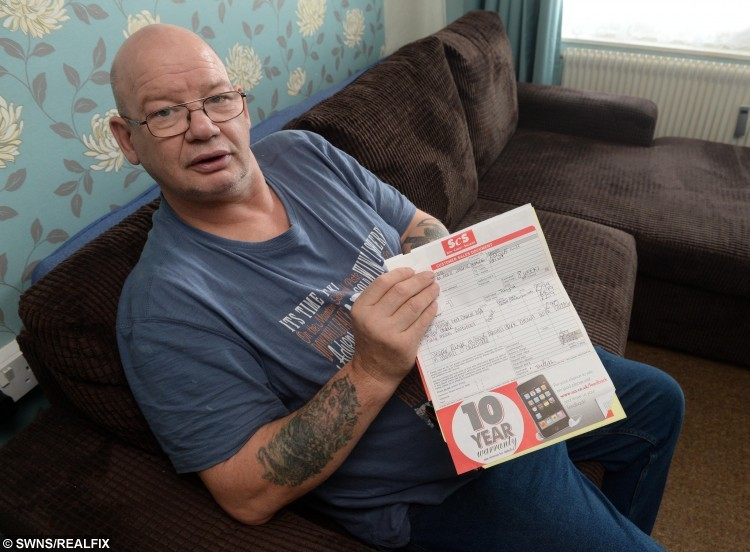 Jan who bought a sofa from SCS in December for £1,600 and after only a few weeks the sofa cushions have become flat and he says he can feel the springs poking through