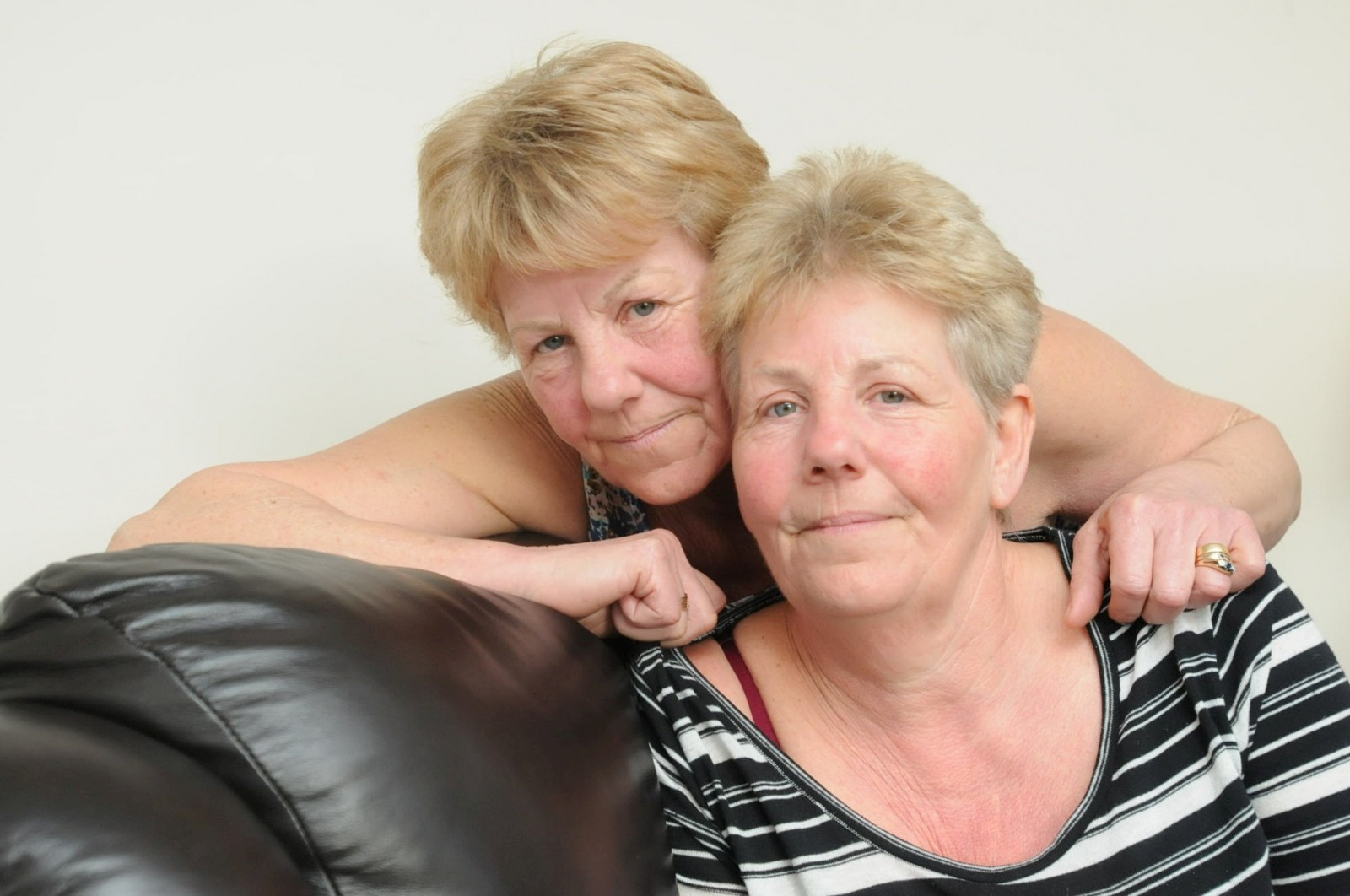 Identical twins Lynda and Ann are supporting each other through this difficult time