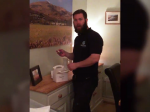 Dad left speechless and close to tears after wife surprises him with a gift 'to daddy' just days before they were due to start IVF