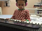 Brave toddler has found the strength to fight a rare cancer – with the help of ADELE