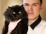 A family has been reunited with their cat after it went missing nearly two years ago – 30 miles away