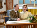 Newlyweds tie the knot in 1940's themed ceremony – inspired by Dad's Army