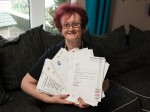 Is this Britain's luckiest woman? Gran wins more than £100k in prizes after entering hundreds of competitions