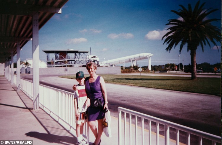 Lorraine's holiday win at the NASA space centre in Florida in 1998