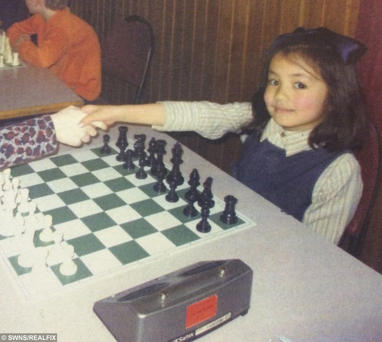 Collect at recent tournament of child chess prodigy six-year-old Carolina Espinosa. See SWNS story SWCHESS: A six-year-old schoolgirl is causing a sensation in the normally staid world of Scottish chess – by beating off much older competition to land two major titles in just a month. Little Carolina Espinosa Cancino, who has been playing chess since the age of two, likes nothing more than singing along to her favourite musical, Annie, or humming the Let It Go soundtrack to Disney film Frozen. But when the chess board comes out she switches into junior master mode, leaving opponents more than three times her age trailing in her wake. Carolina, a pupil at Sacred Heart Primary school in Girvan, last month won the 2016 Scottish Junior Chess Tournament.