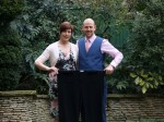 A couple who were nearly too fat to fly have lost 15 STONE – and won a prize for slimming couple of the year