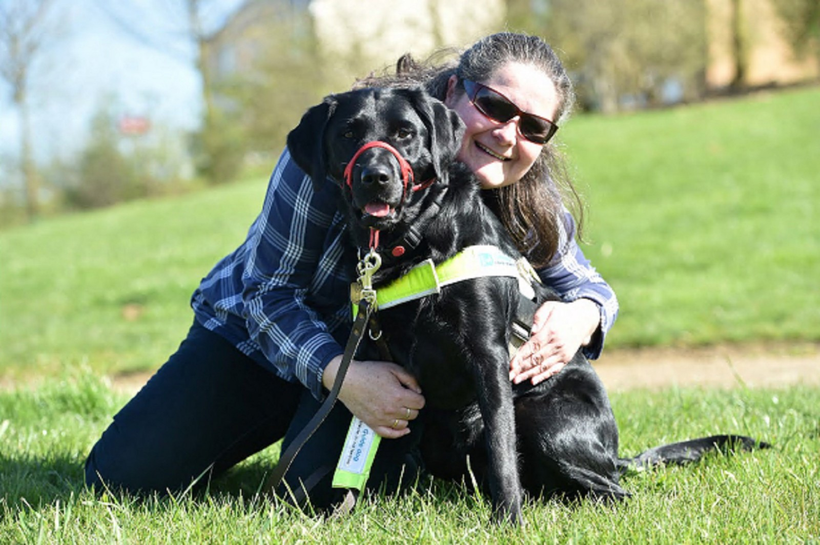 Blind woman looking for work claims she was thrown out of the Job Centre – for taking her guide dog in with her