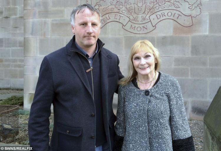 Brian Herrick's sister Kathleen Owens and his eldest son Richard