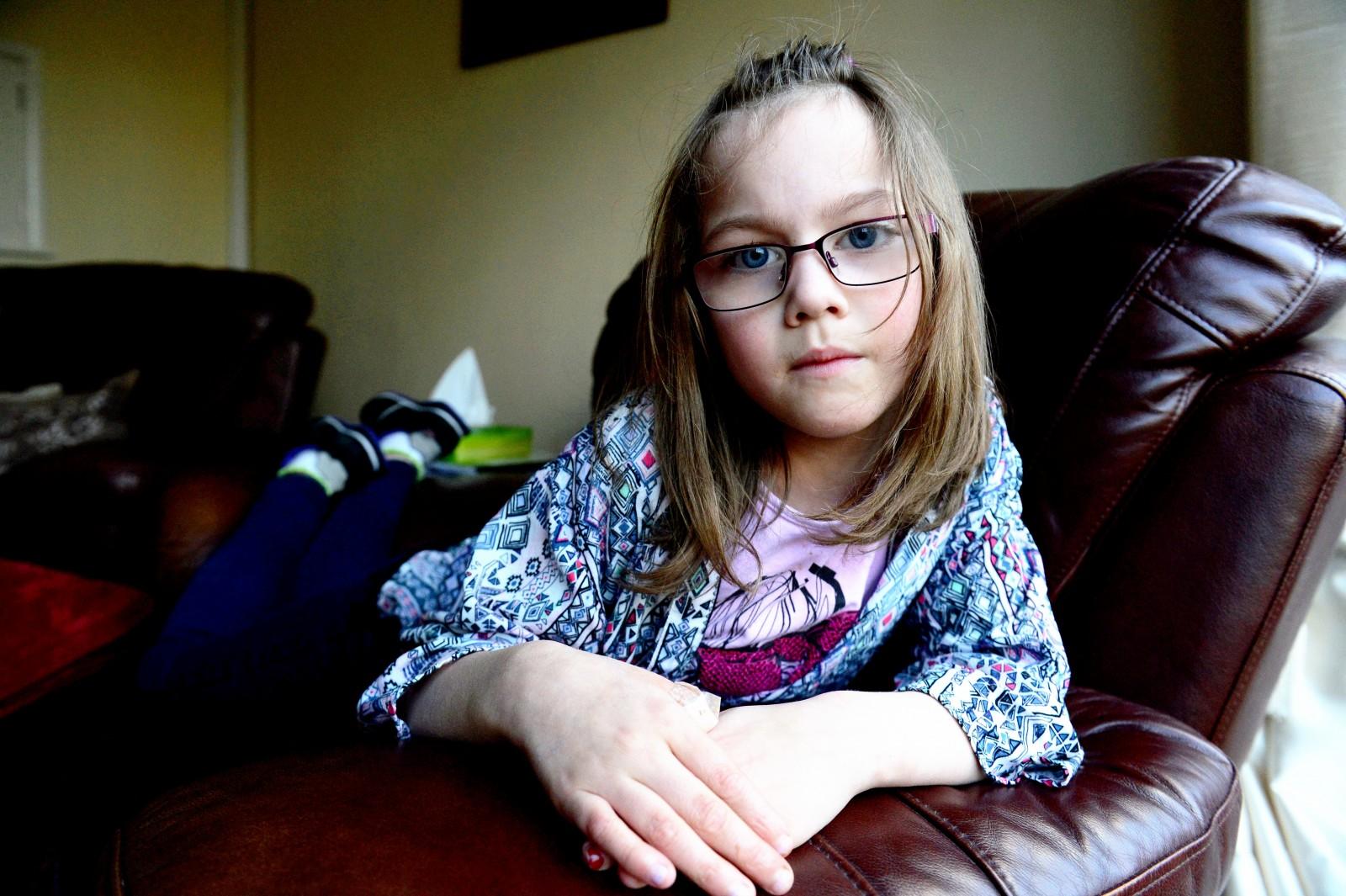Horrific – Schoolgirl left disfigured after horse bites off her thumb