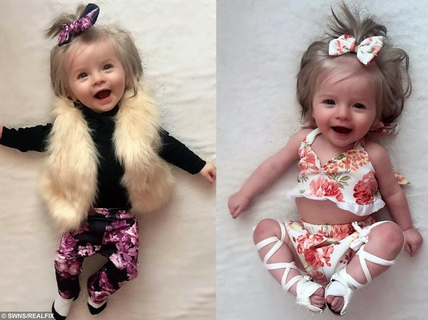 Mum defends her decision to make one-year-old daughter a viral Internet  star | real fix