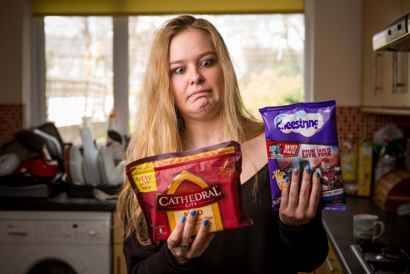 You feta keep that away from me – woman has paralysing fear of CHEESE