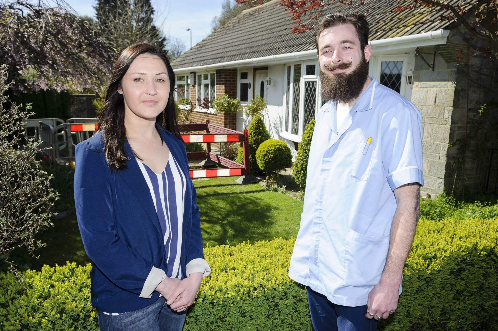 Hero and a half shell – woman saves pensioners, and their tortoise from burning house
