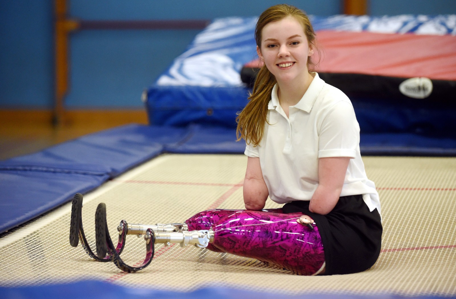 Izzy is hoping to inspire other young people through her achievements