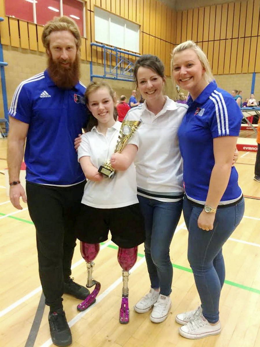 Izzy came top in the disability category