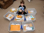 Schoolboy finishes epic task of writing a letter to every single country in the world