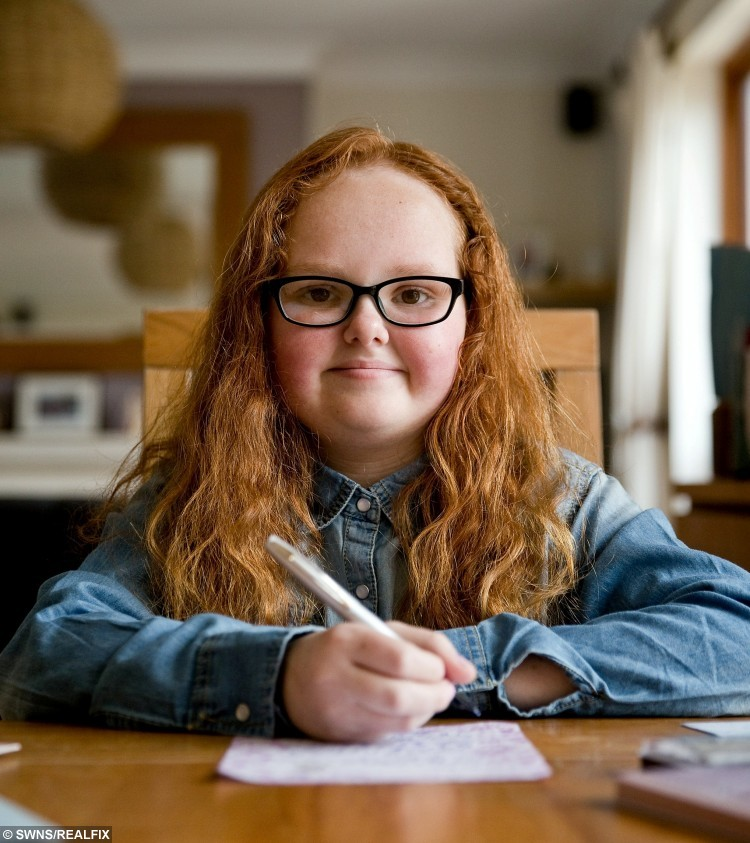 12-year-old letter writer Leanna Williams