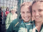 The Queen of all photobombs – she maybe 90, but she's still down with the kids