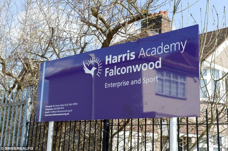 General view of  Harris academy Falconwood, Welling, Kent.