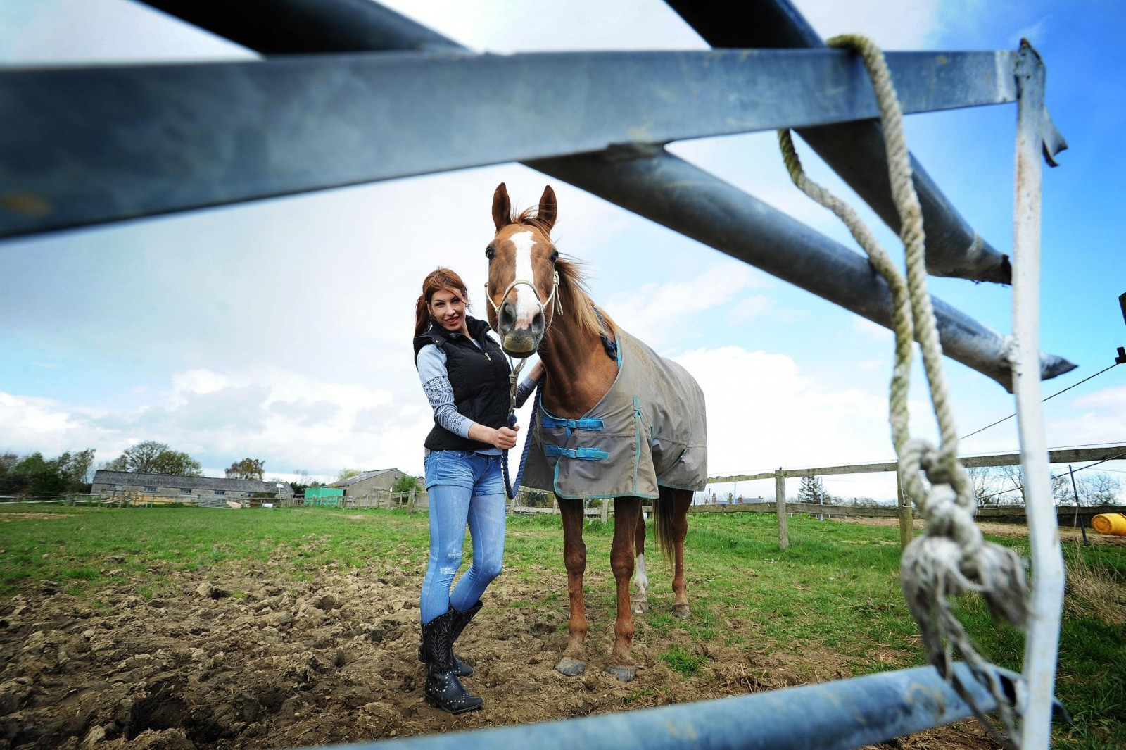 You wont believe why this young mare had to be rescued by firefighters