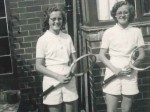 A pair of 'ace' twins who have dedicated seven decades of their lives to playing tennis are determined to carry on as they celebrate their 80th birthday.