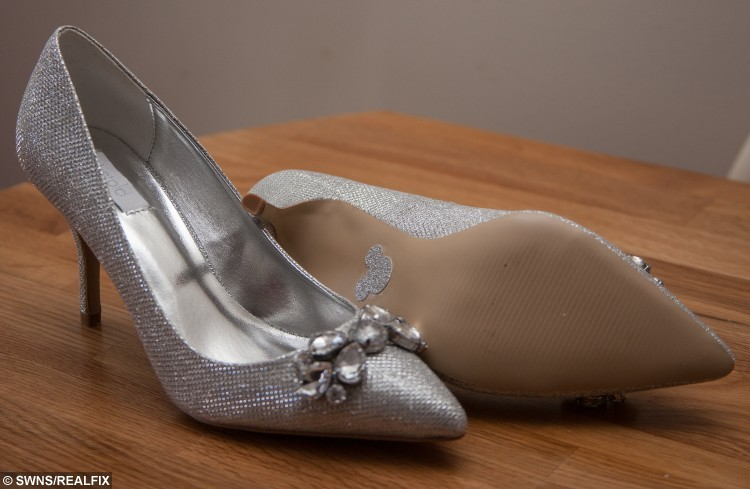 Tinderella's lost shoe. A Real-life Tinderella, Laura and Jonathan Colebrook who got married after meeting on the dating app tinder. A real-life Tinderella has told how she landed herself a fairytale wedding after swiping right for her Prince Charming - and she even lost her SHOE on the big day. See swns story SWTINDER. Once upon a time, in 2014, 27-year-old Laura Colebrook, a Disney-obsessed lawyer, found herself single and ready to mingle - so turned to Tinder.  She had only been on the dating app for a few weeks when she came across a potential suitor, dark-haired Jonathan Tapping, a 32-year-old IT consultant. After a mutual right swipe to indicate their attraction for one another, they struck up a conversation and immediately fell under one another's spell. On their first date, the pair decided to go to Disney World Florida together - Laura's 17th trip - and within weeks, Jon had hatched a plan to make the Disney fanatic his bride. He popped the question six months later during the Disney trip with a diamond platinum ring inside a Winnie the Pooh trinket box - and Laura said yes. In true fairytale fashion, the loved-up couple got married in a land far far away in a Cinderella-themed Disney wedding, on Waimanalo Beach in Oahu, Hawaii, in January.  To top it all off, Laura somehow lost her shoes as she rushed away from the ceremony - just like in the original Cinderella story.