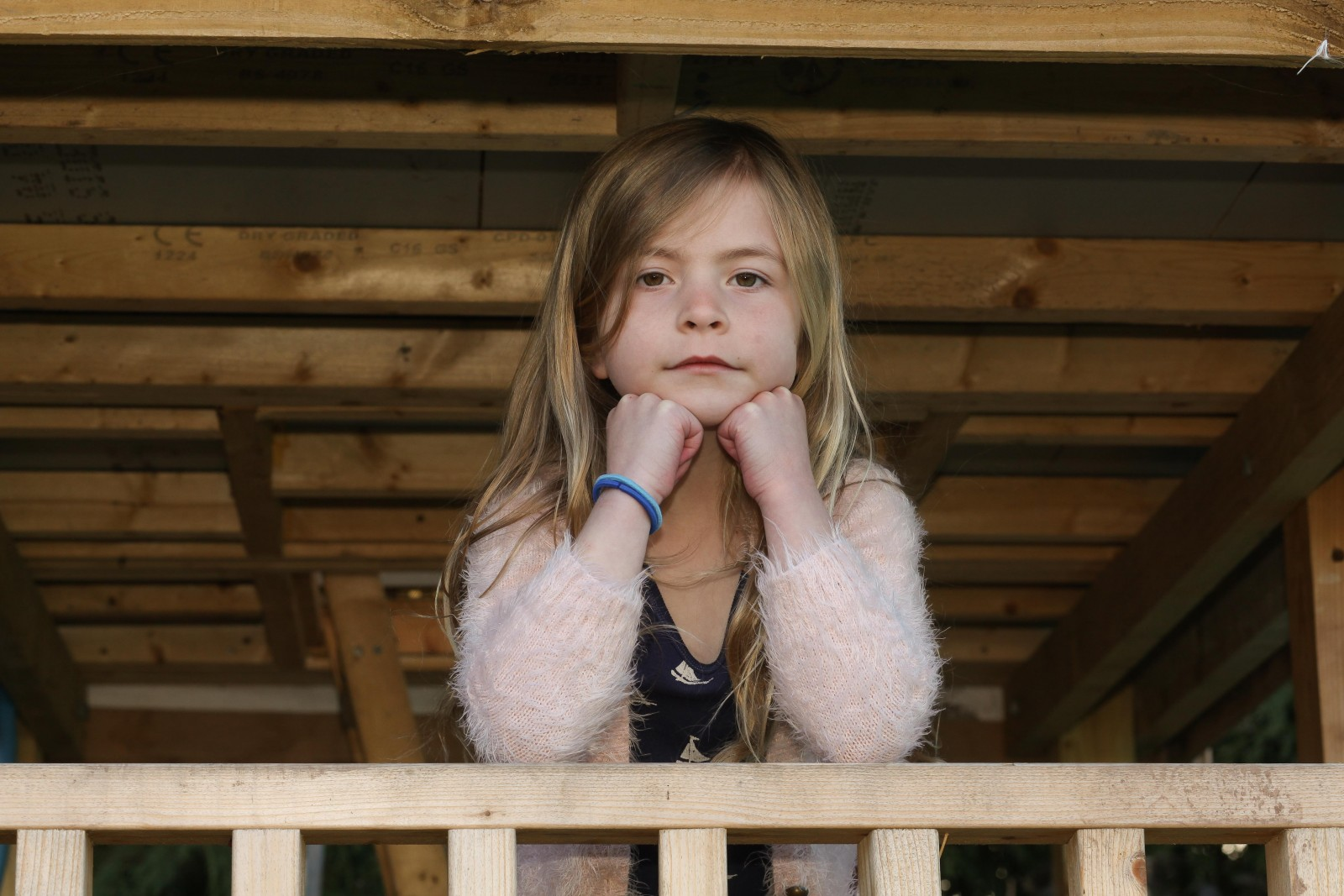 A dad is gutted after the council told him to tear down a massive 'tree house' he built for his seven-year-old daughter
