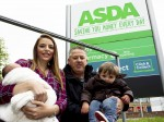Hero dad delivers baby in Asda car park