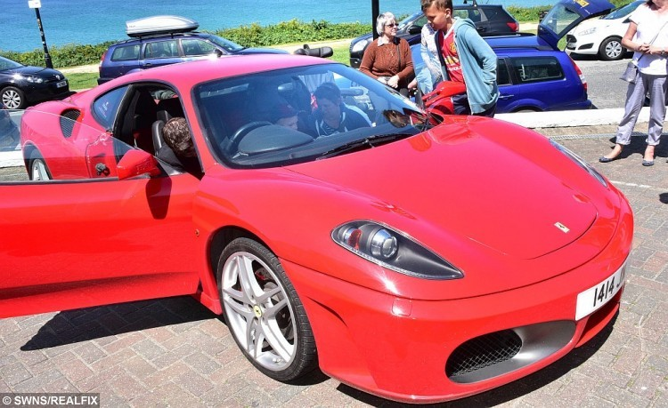 Another of the Ferraris