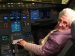 Pensioner overcomes fear of flying to take first flight age 85