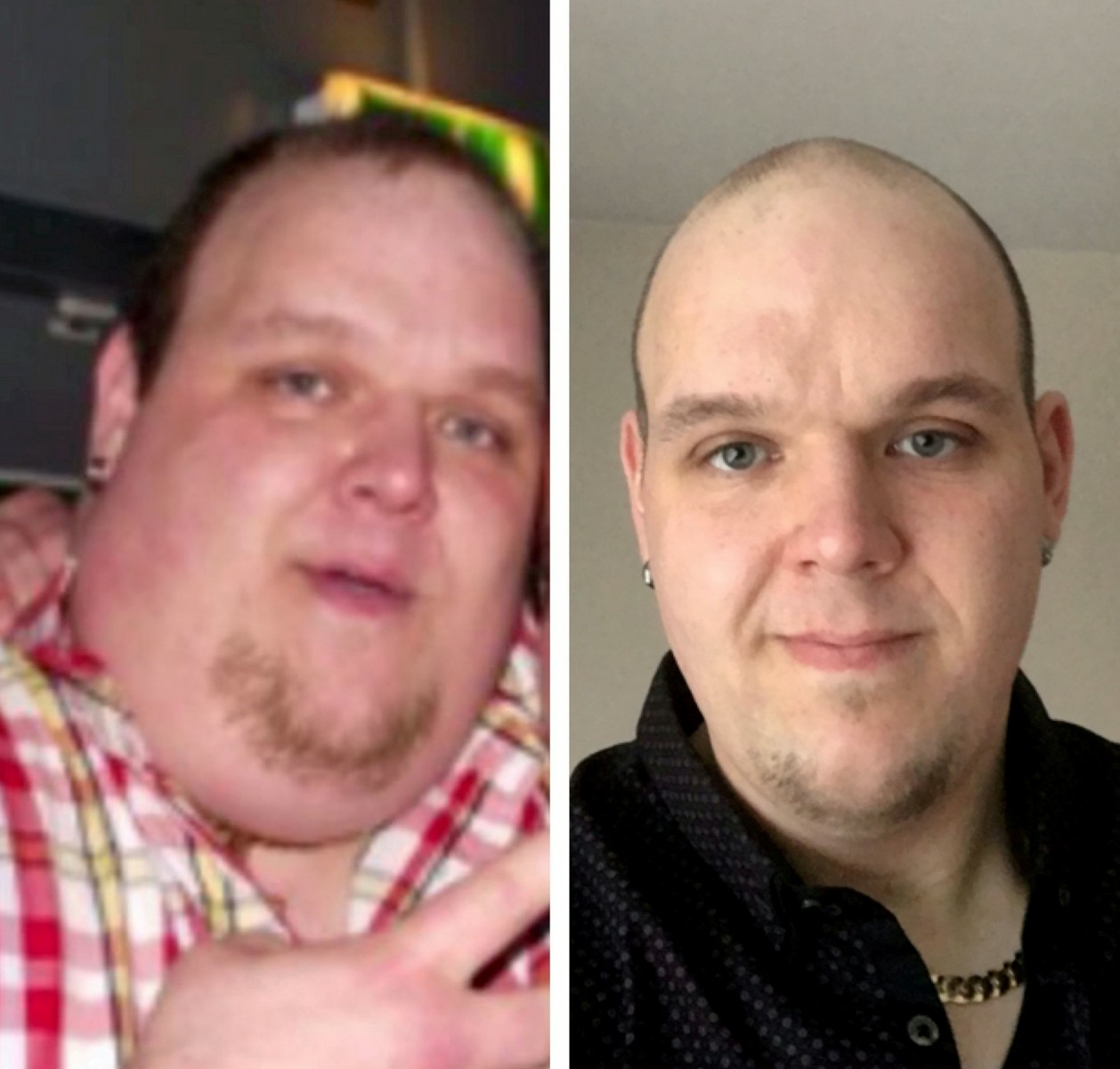 KFC addict loses 15 stone in a year after getting too big to drive