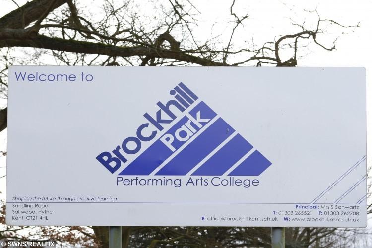 Brockhill Park Performing Arts College, Sandling Road.
