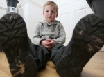Four-year-old boy hit by a car escapes serious injuries – thanks to his velcro shoes