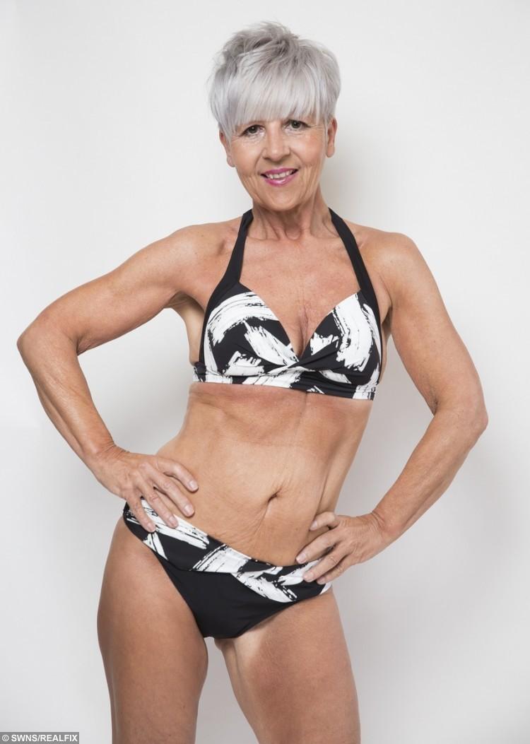 Grandma In Bikini - Mature Nakedpussy
