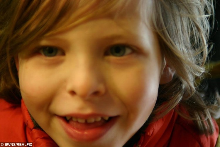 Seth Dixon, 7. was knocked over and killed by Amy Asker.