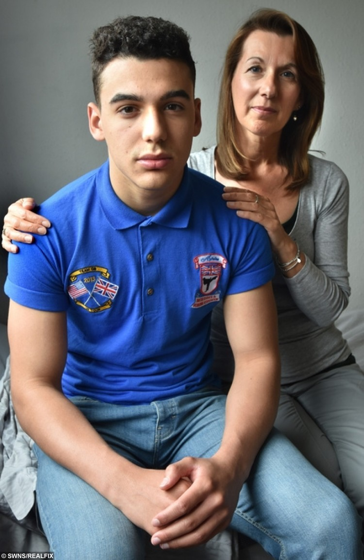 "Sam Tai, 17, and his mum Jane from York, North Yorkshire. Sam suffered global amnesia following concussion in a rugby match and now can hardly remember anything. See Ross Parry copy RPYMEMORY : A sports-mad teenager has been left with almost total memory loss after suffering concussion during a rugby game. Sam Tai, 17, has been diagnosed with global amnesia, a condition so severe he can't remember how to find his way home from the shops. Six weeks after the injury, he wakes every morning and ""doesn't know anything"". But his proud mum Jane has revealed that even though he can't remember where he lives, the keen karate kid can recall an entire sequence of martial arts moves lasting a few minutes."