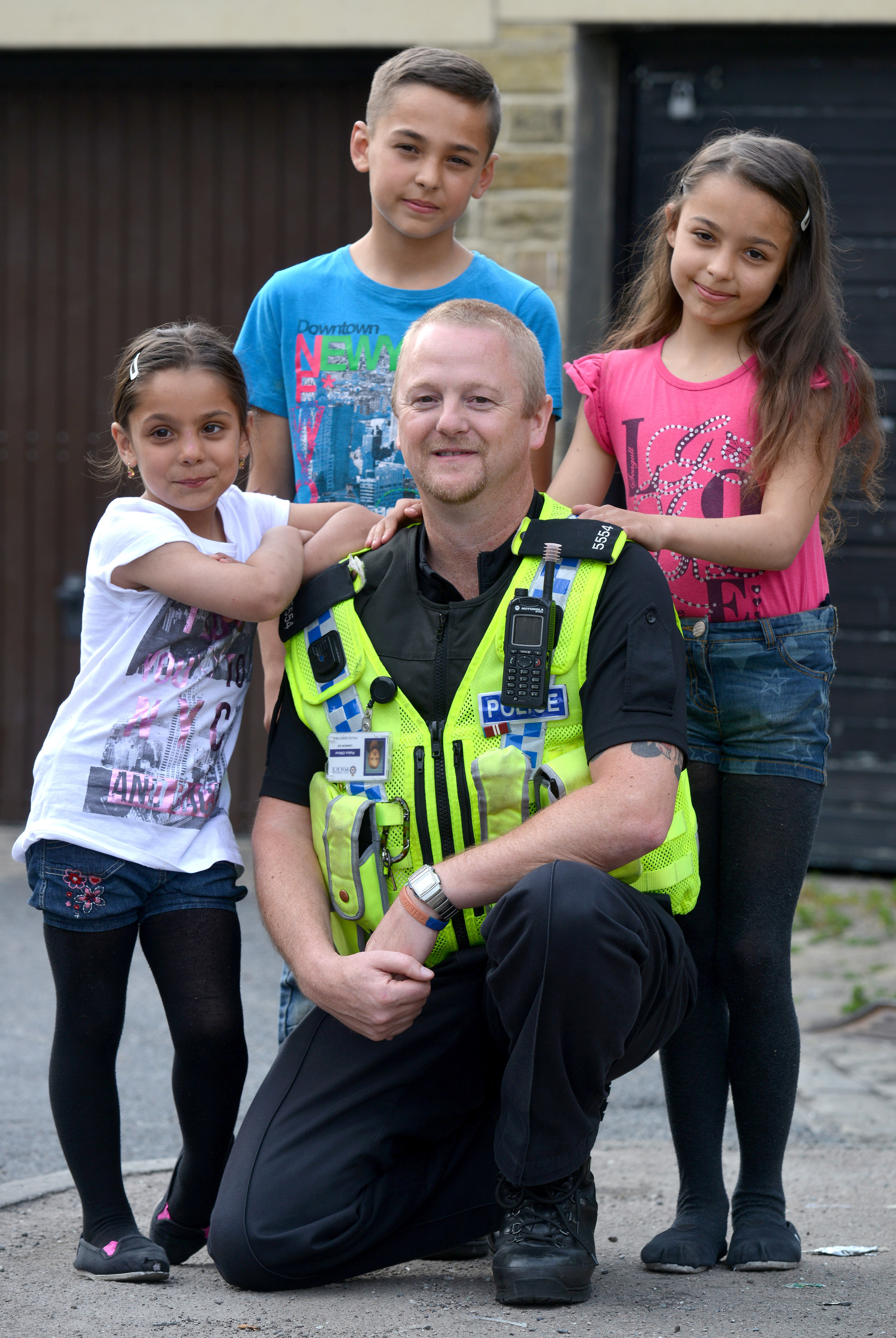 Meet the cop crowned Britain's bravest bobby