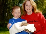 A brave schoolboy has been named a hero after he saved a hedgehog from a brutal kicking