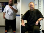 A morbidly-obese man has lost a third of his bodyweight in just eight months.
