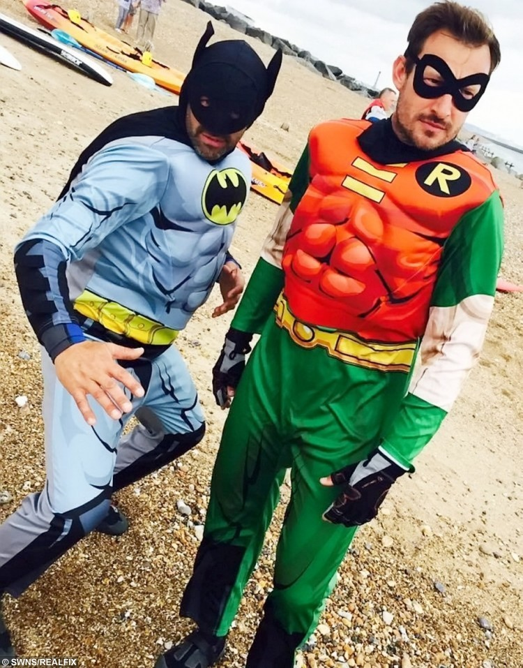 Batman and Robin to the rescue