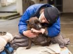 Generous residents raise £1,000 for homeless man's sick dog