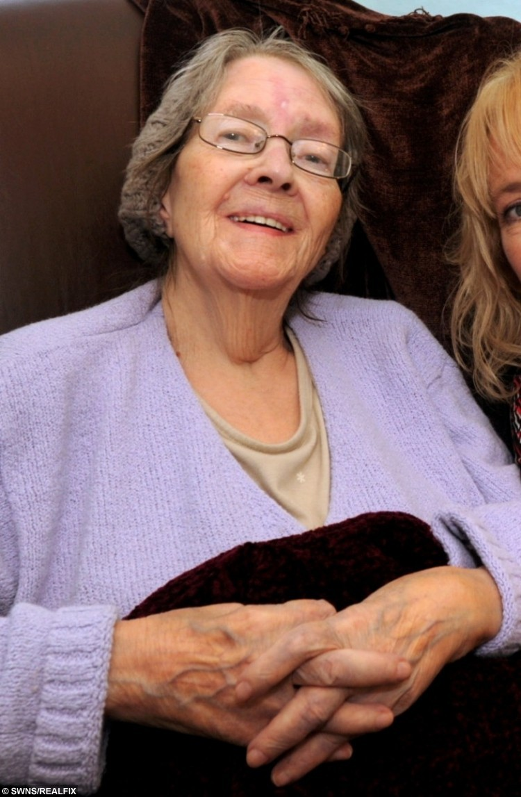 Betty Clarke, who claimed someone named 'P' hurt her.