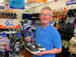 Plucky pensioner chased down thief nicking flip-flops – despite having a HIP REPLACEMENT